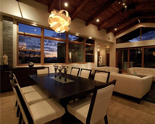 Modern Dining Room By Oro Valley Interior Designers Decorators Aesthetics Interiors Inc