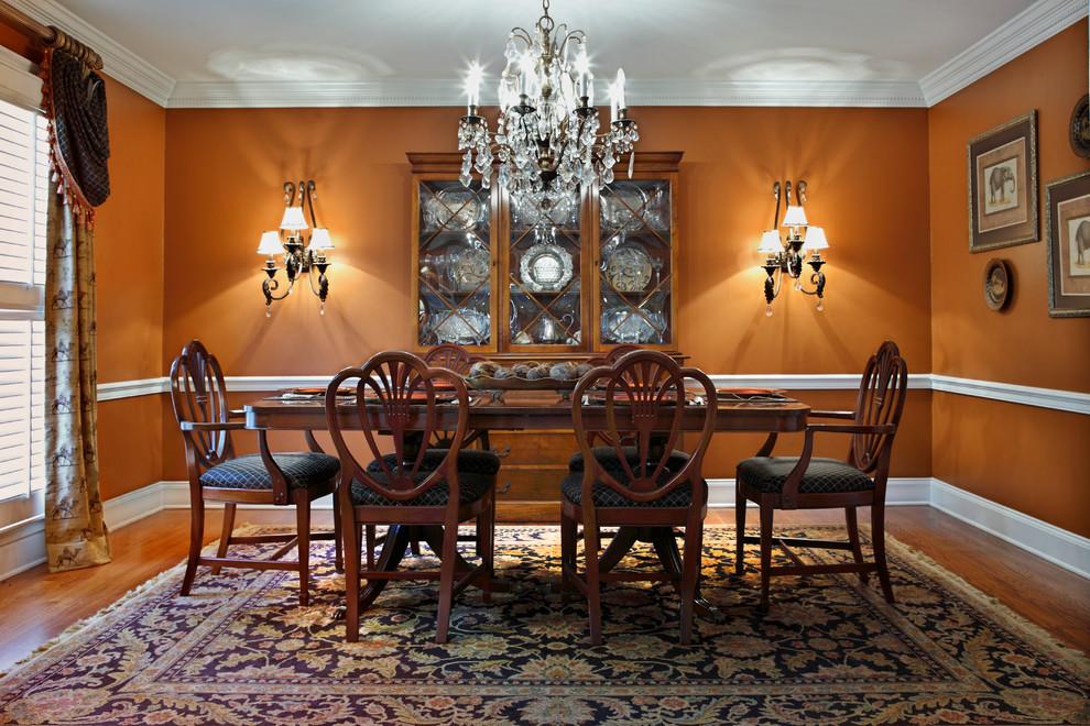 Elegant dining room photo in Atlanta