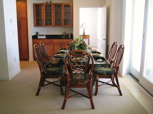 Dining Room Tropical Dining Room