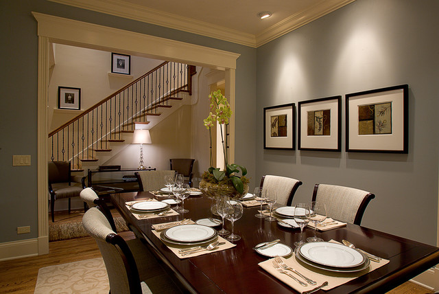 Dining room for Traditional dining room designs