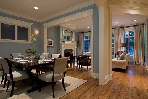 Traditional Dining Room by Chicago Interior Designers & Decorators Michael Abrams Limited