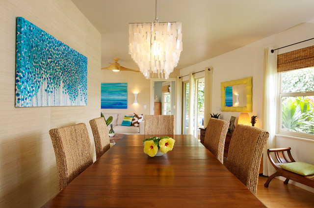 tropical dining room | Dining Room - Tropical - Dining Room - los angeles - by ...