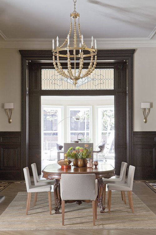 186348 0 8 8880  dining room Contemporary Design in an Antique Home