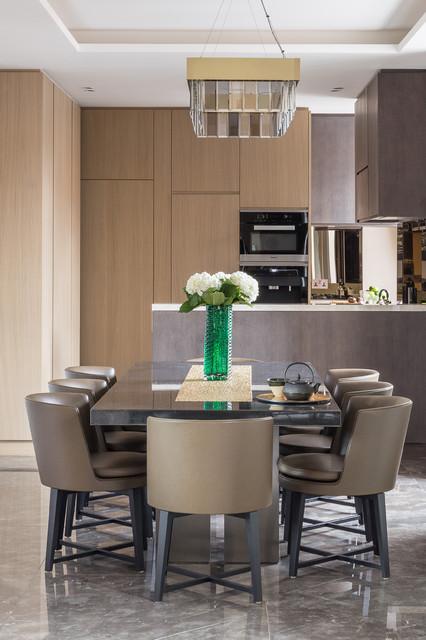 Dining room contempor neo comedor londres de nick for Comedor contemporaneo