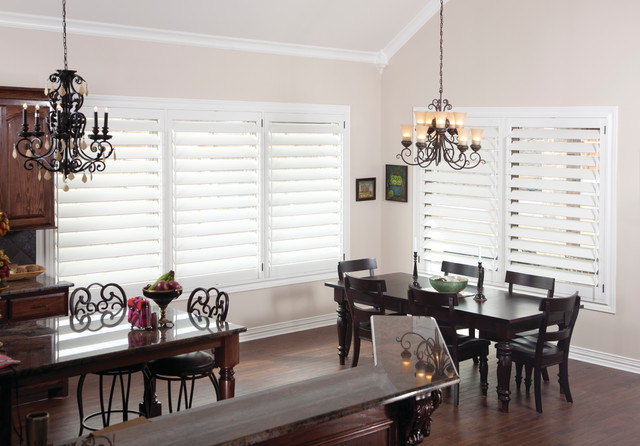 dining room plantation shutters modern dining room brisbane by