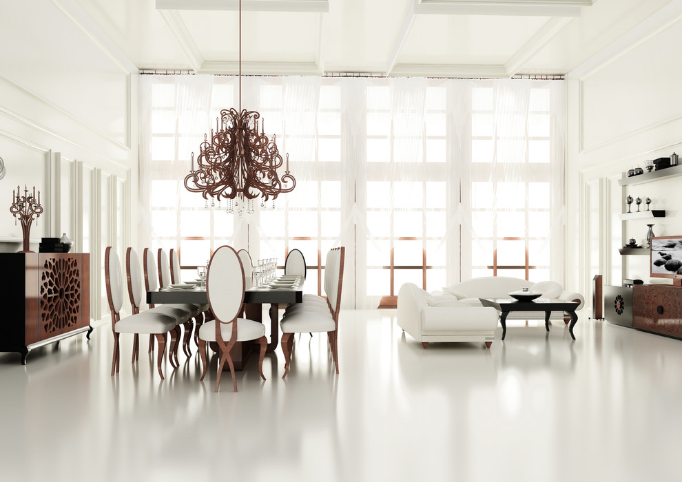 Dining Room Project Big Dining Table Contemporary Dining Room Miami By Macral Design Corp