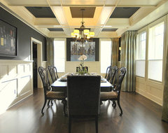 Dining Room Re-Design in Edmonton, AB for Magazine Photo Shoot traditional-dining-room