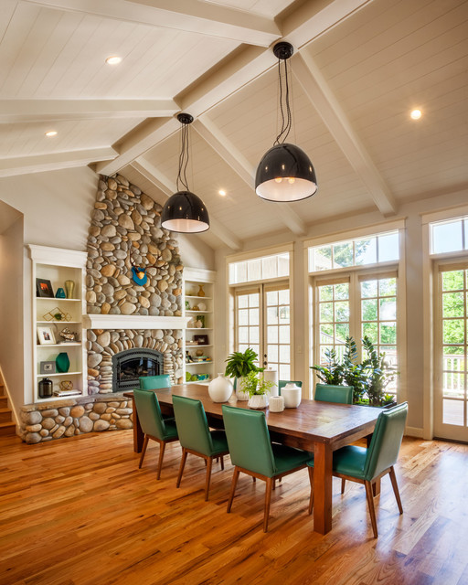 Raleigh Park Transitional Dining Room Portland By