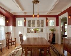 Dining room restored craftsman-dining-room