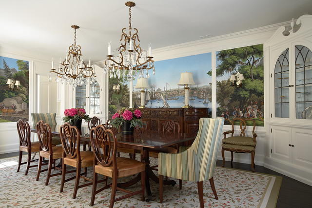 Dining room traditional dining room for Best dining rooms houzz