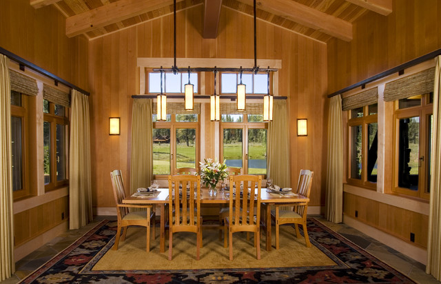 Dining Room - Craftsman - Dining Room - Sacramento - by Ryan Group ...