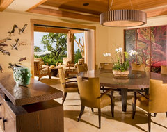 Dining Room tropical-dining-room