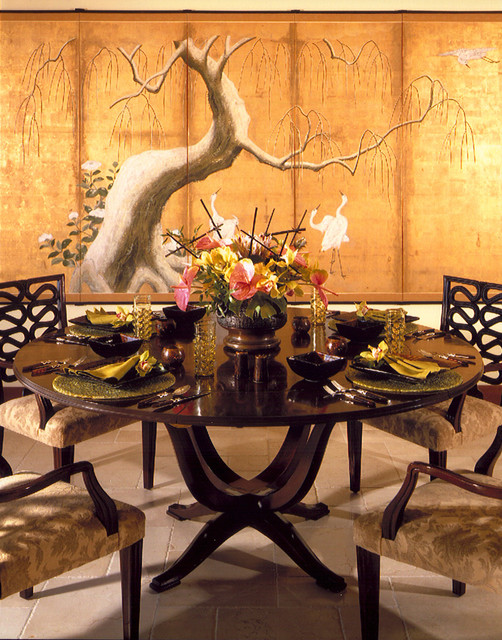 Dining room tropical dining room hawaii by saint for Tropical dining room ideas