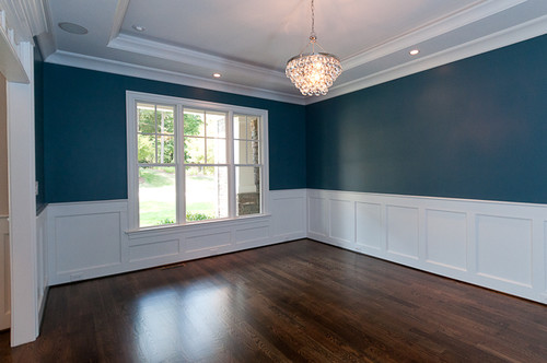 I love the Smoky Blue paint : dining room from www.houzz.com size 500 x 332 jpeg 46kB