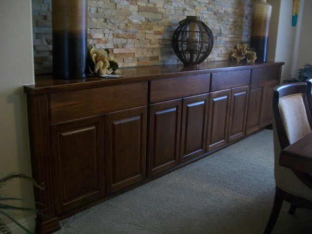 Dining Room Servers Buffets Tables Traditional