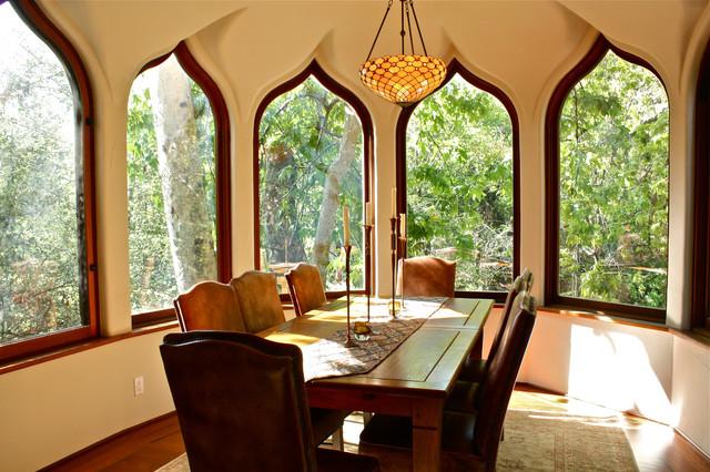 Formal Dining Room Bay Window