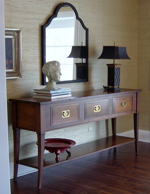 Dining Room Side Table - Traditional - Dining Room - Chicago ...