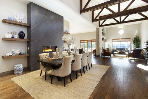 Contemporary Dining Room By Mill Valley General Contractor SINGLEPOINT DESIGN BUILD INC