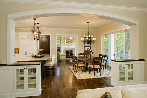 What Are The Overal Room Dimensions Of The Kitchen Dining Room Space Room
