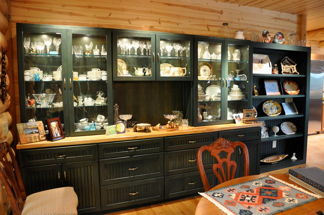 Dining room storage solutions - Traditional - Dining Room - Boston ...