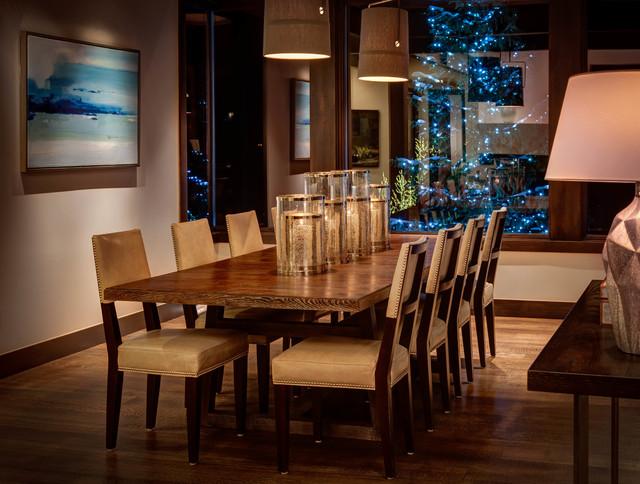 Stein Eriksen Residences Deer Valley - Residence 1 contemporary-dining-room