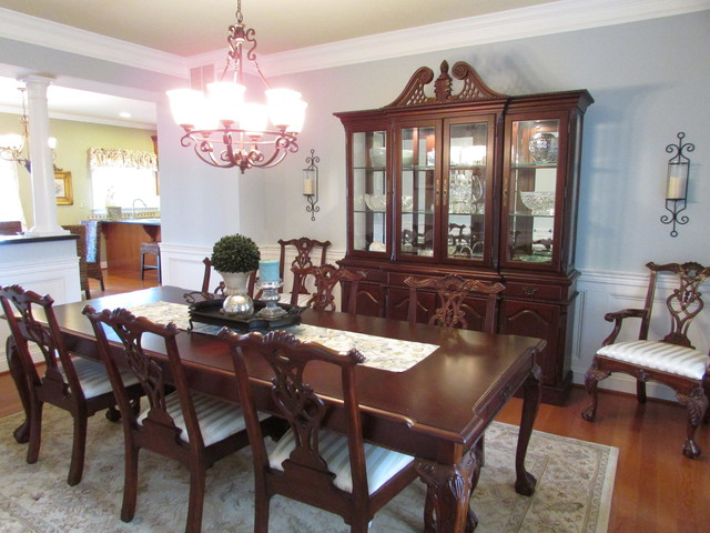 Dining room update traditional dining room baltimore for Updating a traditional dining room