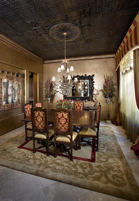 Venetian Eclectic Dining Room mediterranean-dining-room