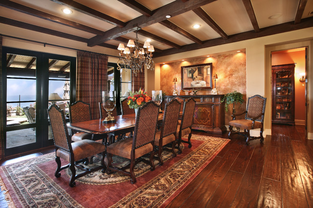Dining Room Traditional Dining Room Orange County