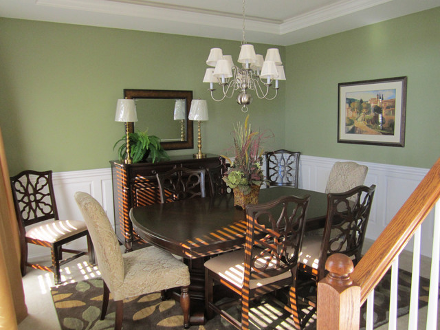 Wainscoting ideas for dining