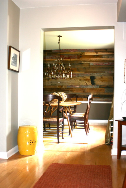 dining room wall art rustic dining room chicago by reclaimed wood chicago. Black Bedroom Furniture Sets. Home Design Ideas