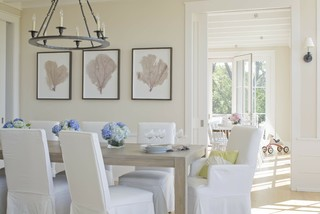 Dining room, watch hill beach-style-dining-room