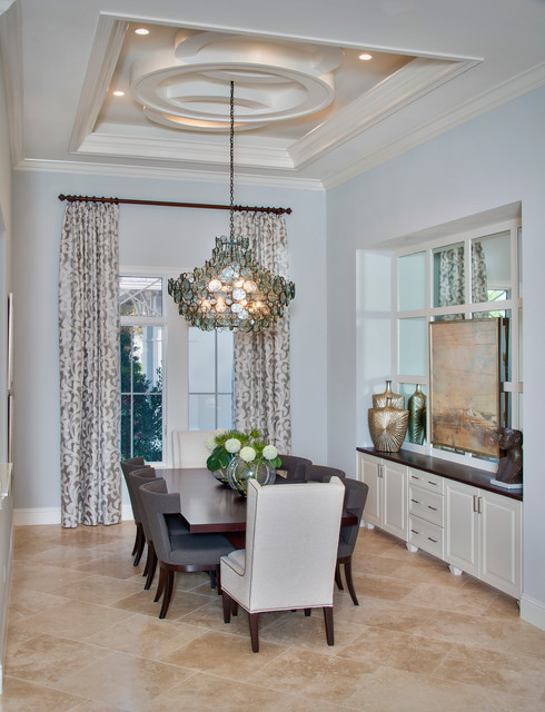 Dining room traditional miami by weber