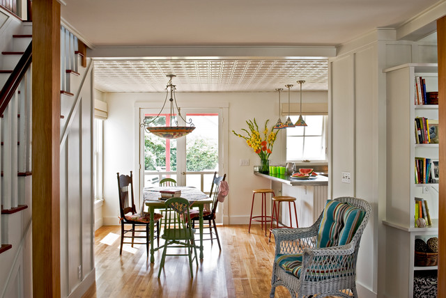 dining room beach style dining room portland maine by whitten