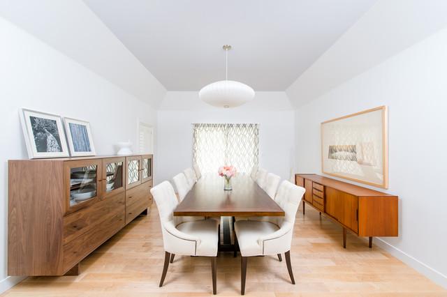 Villa Park Modern Contemporary Dining Room