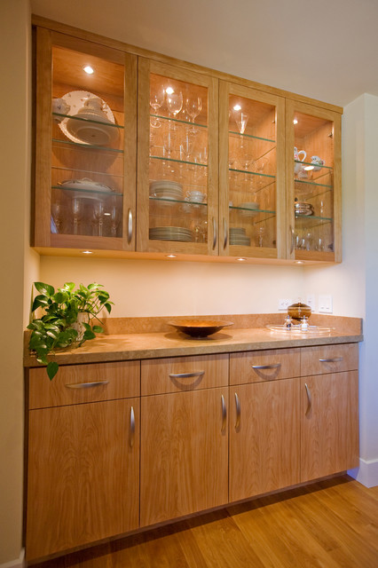 Dining Room with built-in sideboard - Modern - Dining Room ...