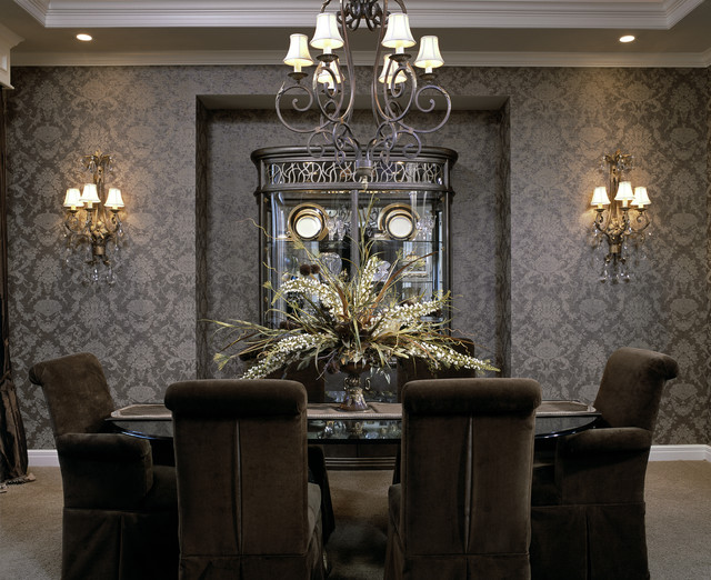 Dining Rooms By Design Connection Inc Kansas City Certified Interior Design Traditional