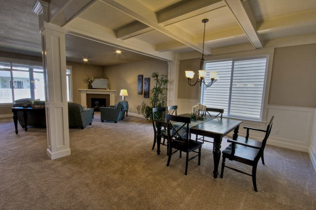 dining rooms craftsman dining room other metro by stone bridge