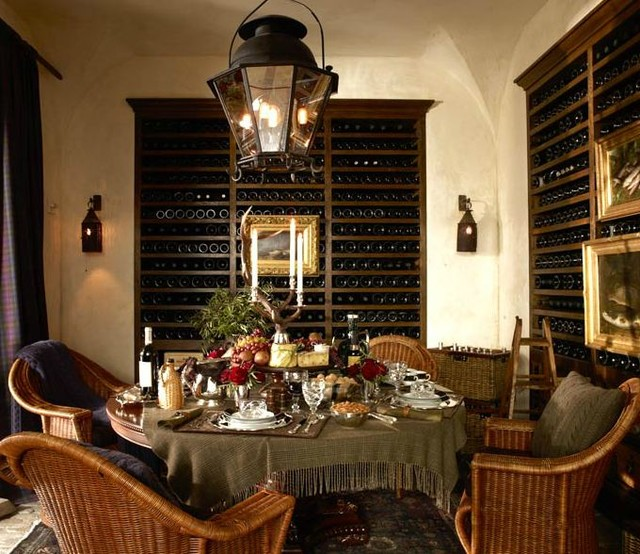 Dining Rooms traditional-wine-cellar