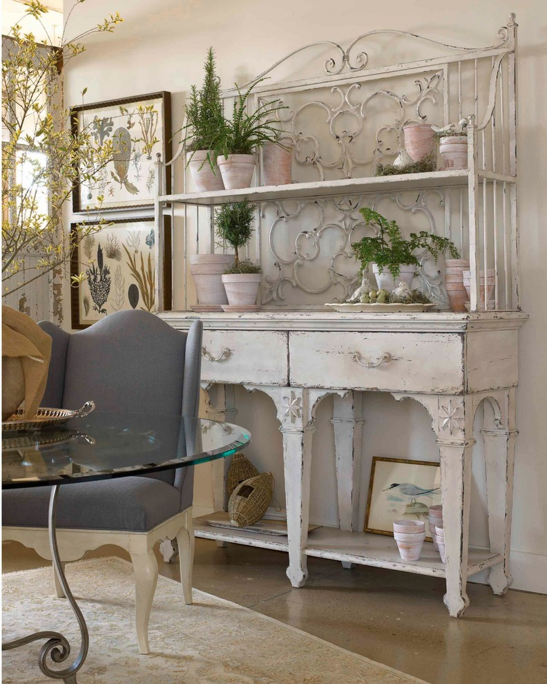Inspiration for a coastal dining room remodel in Other