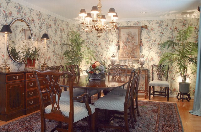 Dining southern style traditional dining room for Southern dining room