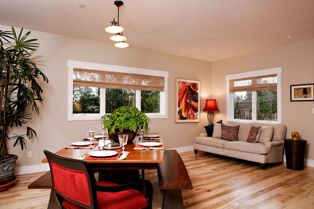 Dining Space with Anderson Windows craftsman-dining-room