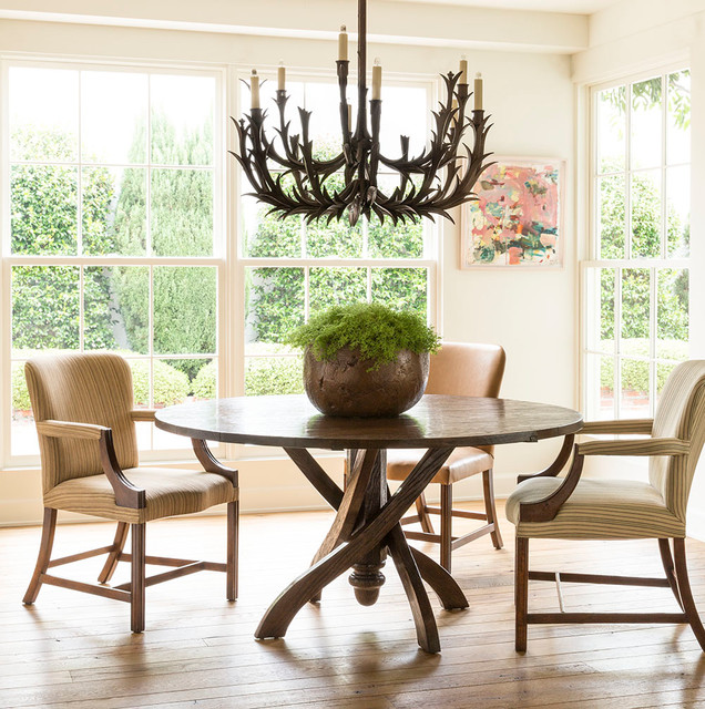Transitional Dining Room Furniture: Dining Spaces By Rose Tarlow Melrose House