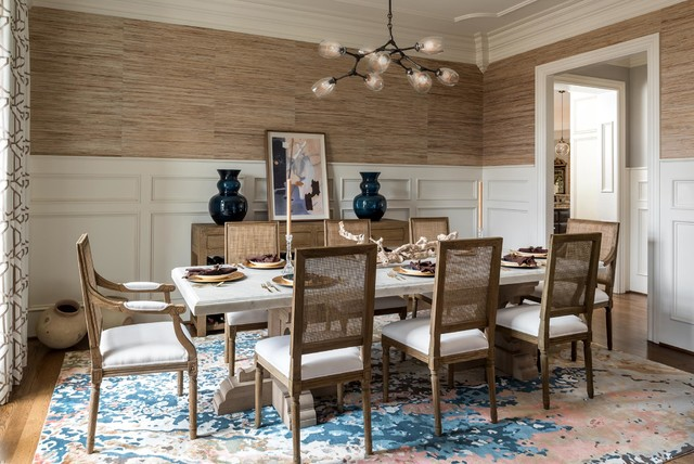 Beach Style Dining Room Baltimore