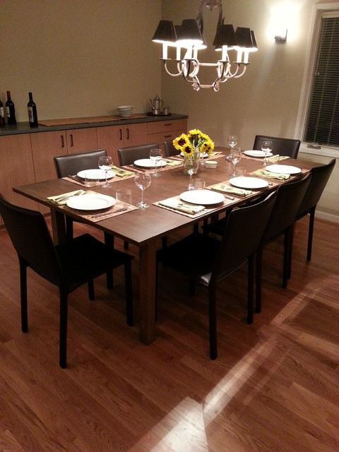 Dining Table Traditional Dining Room Seattle By Specialty Woodwork Inc