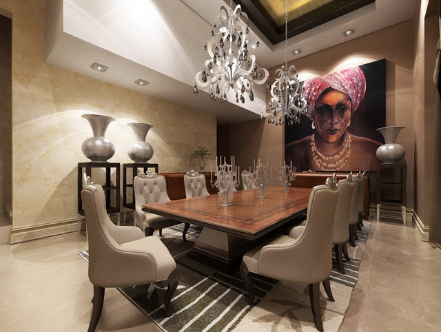 dining eclectic-dining-room