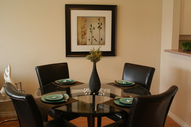Dinning Room Staging Contemporary Dining