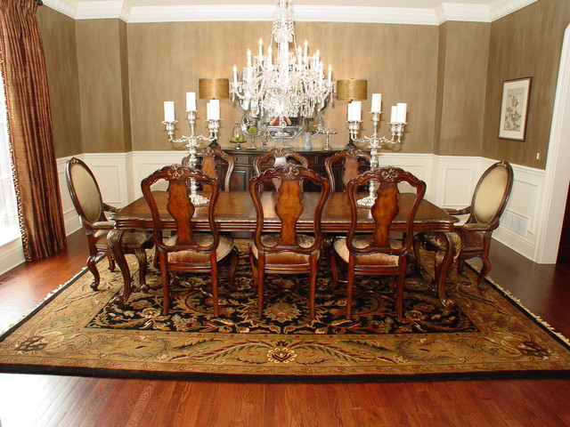 dinning rooms traditional dining room kansas city by area rug