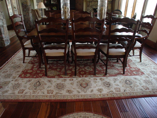 Dinning rooms traditional dining room kansas city for Dining room rugs