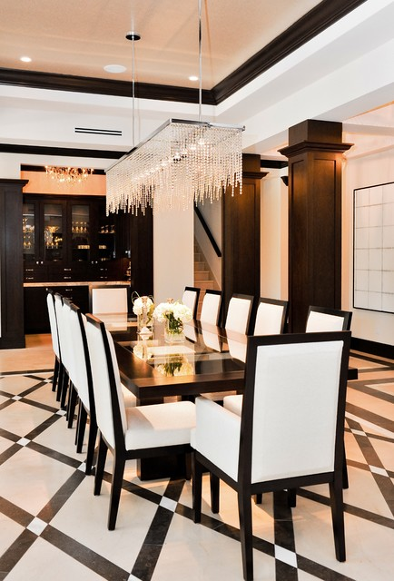 DirtyDozen Contemporary Dining Room