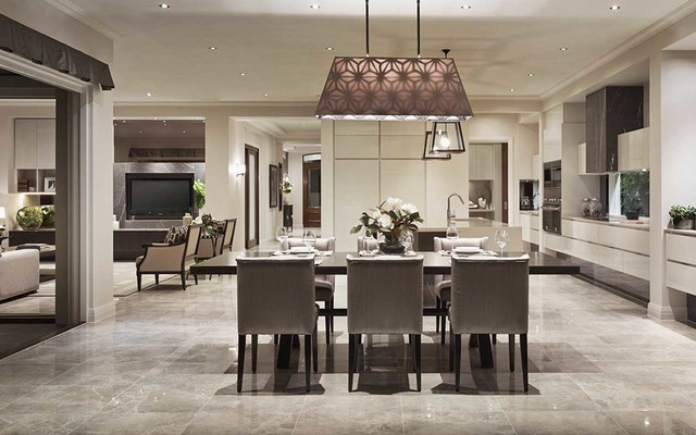 Display Home Bordeaux 56 Traditional Dining Room Melbourne By Metricon